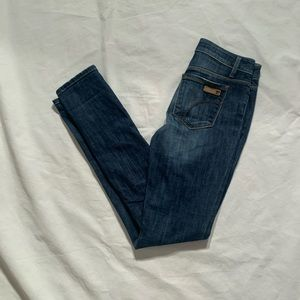 Joes Size 25 Skinny Visionaire Cotton Blend